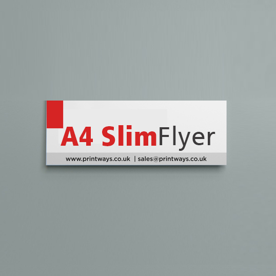A4 Slim Flyers