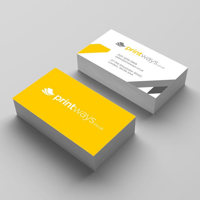 Buy standard business card online standard business cards matt standard business cards reheart Choice Image