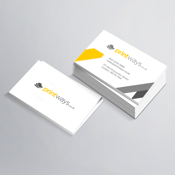 Business cards printing design your own luxury business cards in uncoated business cards reheart Choice Image